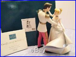WDCC CINDERELLA & PRINCE CHARMING DANCING COUPLE titled SO THIS IS LOVE