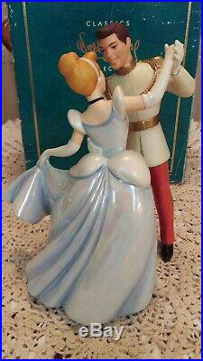 WDCC CINDERELLA SO THIS IS LOVE CINDERELLA & PRINCE CHARMING WithBOX, NO COA