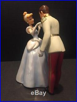WDCC Cinderella And Prince Charming Royal Introduction Only 750 Worldwide Rare