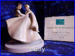 WDCC Cinderella & Prince Charming Cake Topper Happily Ever After