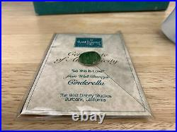 WDCC Cinderella Prince Charming & Cinderella So This is Love with Box and COA