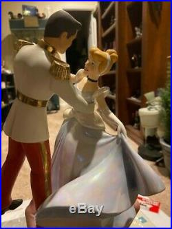 WDCC Cinderella & Prince Charming Dancing Couple So This is Love NEW Princess