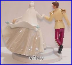 WDCC Cinderella & Prince Charming NEW Cake Topper Fairy Tale Wedding SIGNED