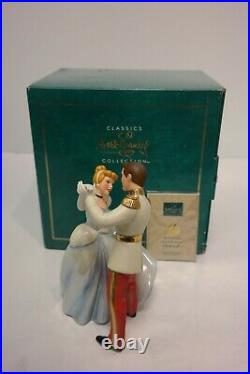 WDCC Cinderella SO THIS IS LOVE Cinderella & Prince Charming Dancing with COA
