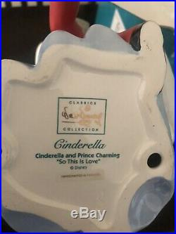 WDCC Cinderella and Prince Charming Cinderella So This Is Love figurine Disney