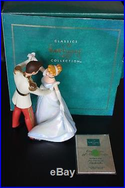 WDCC Cinderella and Prince Charming SO THIS IS LOVE Figurine Sculpture Disney