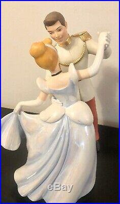 WDCC Cinderella and Prince Charming So This Is Love 1st Edition 95, NIB w COA