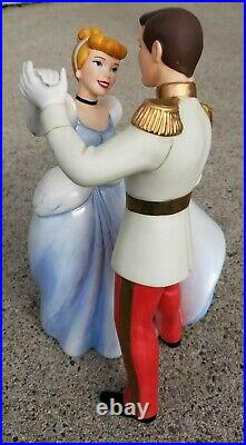 WDCC Cinderella and Prince Charming So This Is Love and Cinderella base