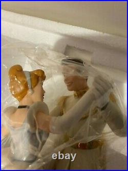 WDCC Cinderella and Prince Charming So This Is Love with Box & COA