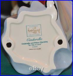WDCC Cinderella and Prince Charming So This is Love withOrig Box & COA