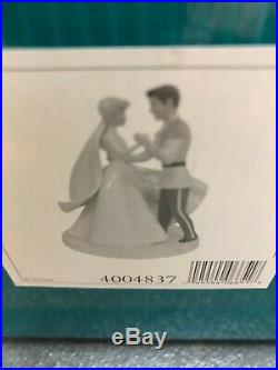 WDCC Disney Cinderella & Prince Charming HAPPILY EVER AFTER With BOX & COA 4004837