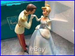 WDCC Disney Cinderella & Prince Charming ROYAL INTRODUCTION With BOX & COA 4015614