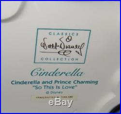 WDCC Disney Cinderella & Prince Charming So This is Love COA MIB 11K 410790