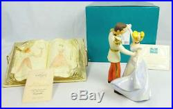 WDCC Disney Cinderella Prince Charming So This is Love + Sewing Book withBox & COA