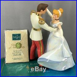 WDCC Disney Cinderella and Prince Charming So This Is Love Mint in Box with COA