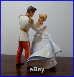 WDCC Disney Cinderella and Prince Charming So This Is Love with Box & COA