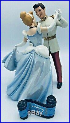 WDCC Disney Cinderella and Prince Charming So This Is Love with Opening Title