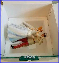 WDCC Disney Classics Cinderella And Prince Charming So This Is Love Box & COA