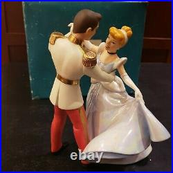 WDCC Disney Classics Cinderella Prince Charming So This Is Love Fairytale MINT