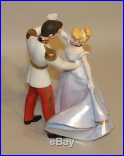 WDCC Disney Classics So This Is Love Cinderella & Prince Charming Box COA