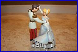 WDCC Disney Movie Cinderella and Prince Charming So This Is Love