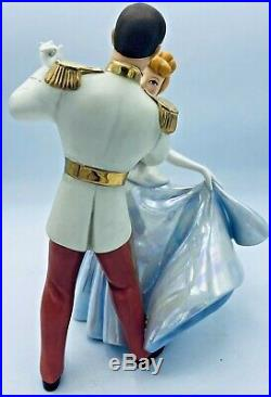 WDCC Disney's Cinderella and Prince Charming So This Is Love with Box & NO COA