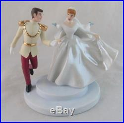 WDCC Fairy Tale Wedding Cinderella and Prince Charming in Box with COA