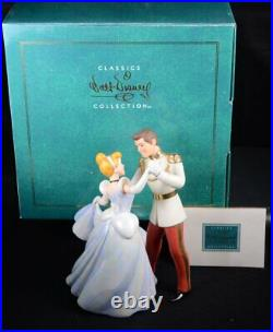 WDCC Figurine CINDERELLA and PRINCE CHARMING So This Is Love with Orig Box & COA
