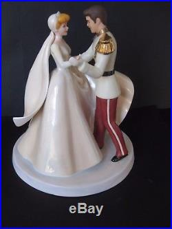 WDCC Happily Ever After Cinderella and Prince Charming MIB