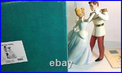 WDCC Mickey Mouse Cinderella & Prince Charming So This Is Love Figurine Box COA