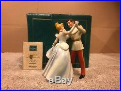 WDCC Prince Charming & Cinderella So This is Love + Box & COA