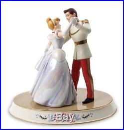 WDCC Prince Charming & Cinderella So This is Love & Dancing Base With Boxes & Coas