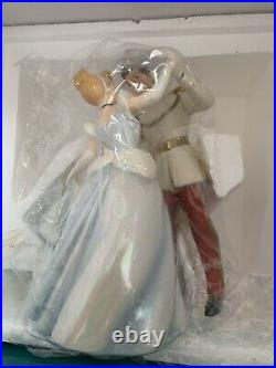 WDCC Prince Charming & Cinderella So This is Love withBox and COA Autographed