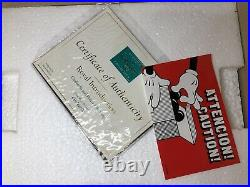 WDCC Royal Introduction CINDERELLA & PRINCE CHARMING limited 750 NEW + Box & COA