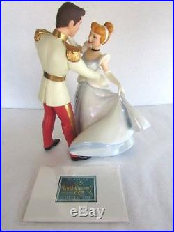 WDCC SO THIS IS LOVE Cinderella & Prince Charming Retired Figurine