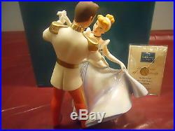 WDCC Set of 3 Cinderella and Prince Charming, Fairy Godmother, Opening Title