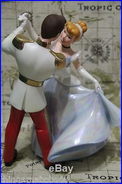 WDCC So This Is Love Cinderella and Prince Charming Box, COA bonus card & pin