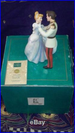 WDCC So This Is Love Cinderella and Prince Charming COA in Box