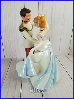 WDCC So This Is Love Cinderella and Prince Charming in Original Box withCOA