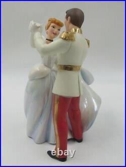 WDCC So This Is Love Prince Charming and Cinderella in Box with COA