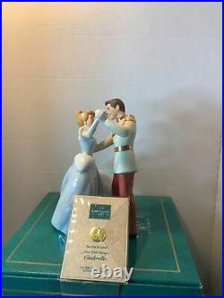 WDCC So This is Love Cinderella and Prince Charming in Box with COA