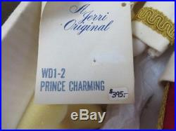 Walt Disney Jerri Collectors Cinderella & Prince Charming Dolls In Boxes Rare