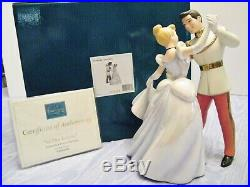 Wdcc 2-pc. Set Cinderella & Prince Charming So This Is Love & Movie Title Base