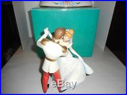 Wdcc Cinderella And Prince Charming So This Is Love Figurine Plus Base Free Sh