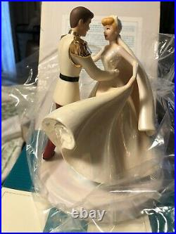 Wdcc Disney Classics Cinderella & Prince Charming Cake Topper Happily Ever After