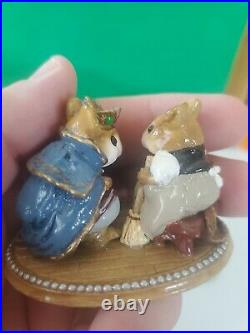 Wee Forest Folk C-1 Cinderellas Slipper & Prince Charming Rare Collectible